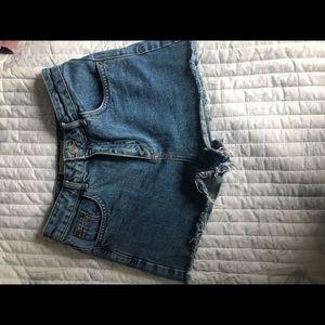 Top shop mom shorts